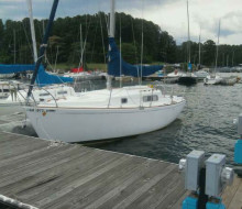 Morgan 28 Sailboat lake lanier trader 1