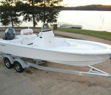 2014 Sportsman Masters 227 Bay Boat Lanier Trader 1