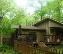 Lake Lanier Vacation Cabin for Rent 2br – 1250ft²
