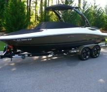 2012 Sea Ray 210 SLX Only 25 hours – Loaded!!!