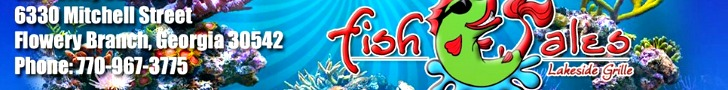 Ad listings for Fish tales restaurant