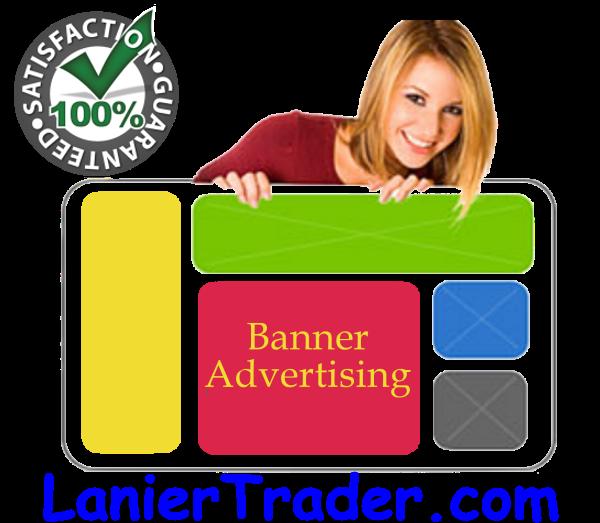 lanier trader banner advertising